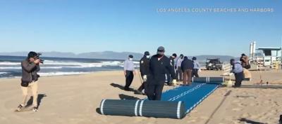 Venice Beach mat