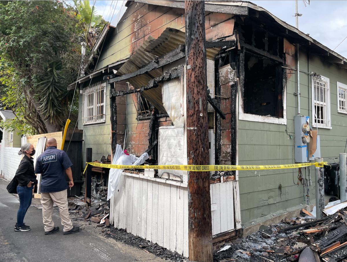 LAFD arson investigating Clubhouse Fire
