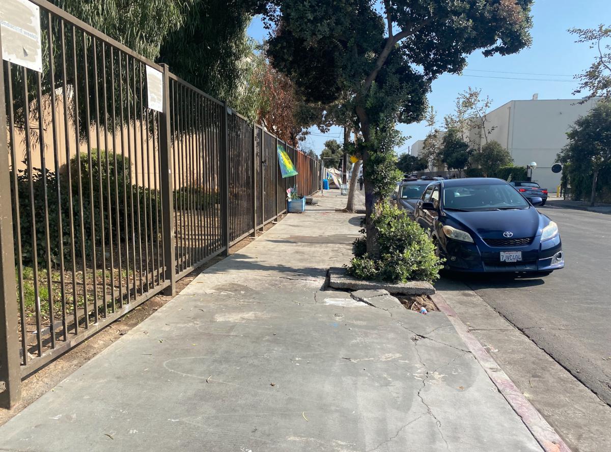 Third Ave sidewal