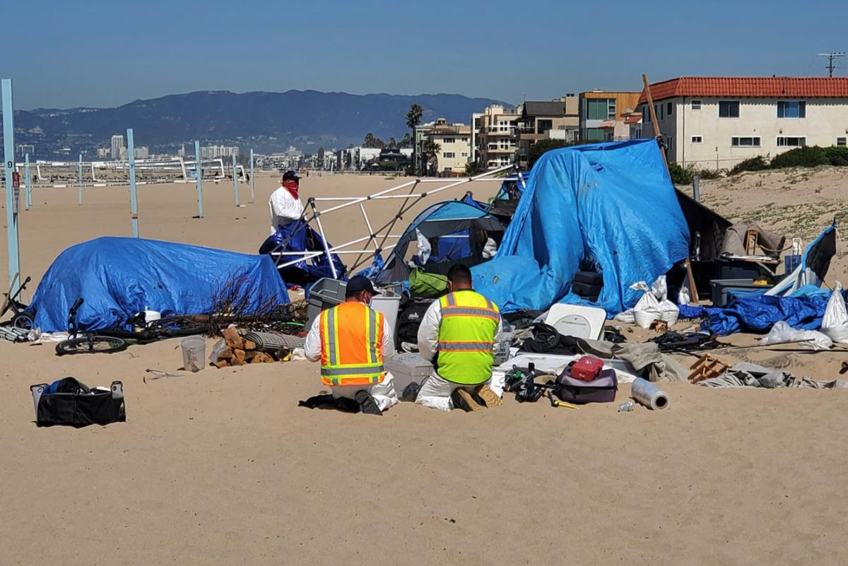 Marina del Rey cleanup