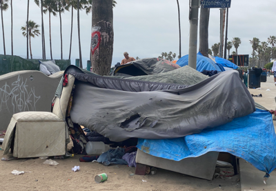Boardwalk encampments continue to grow