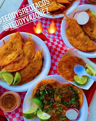 Teddy's Red Tacos