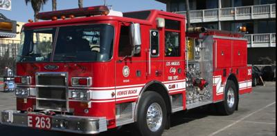 Venice Fire Truck