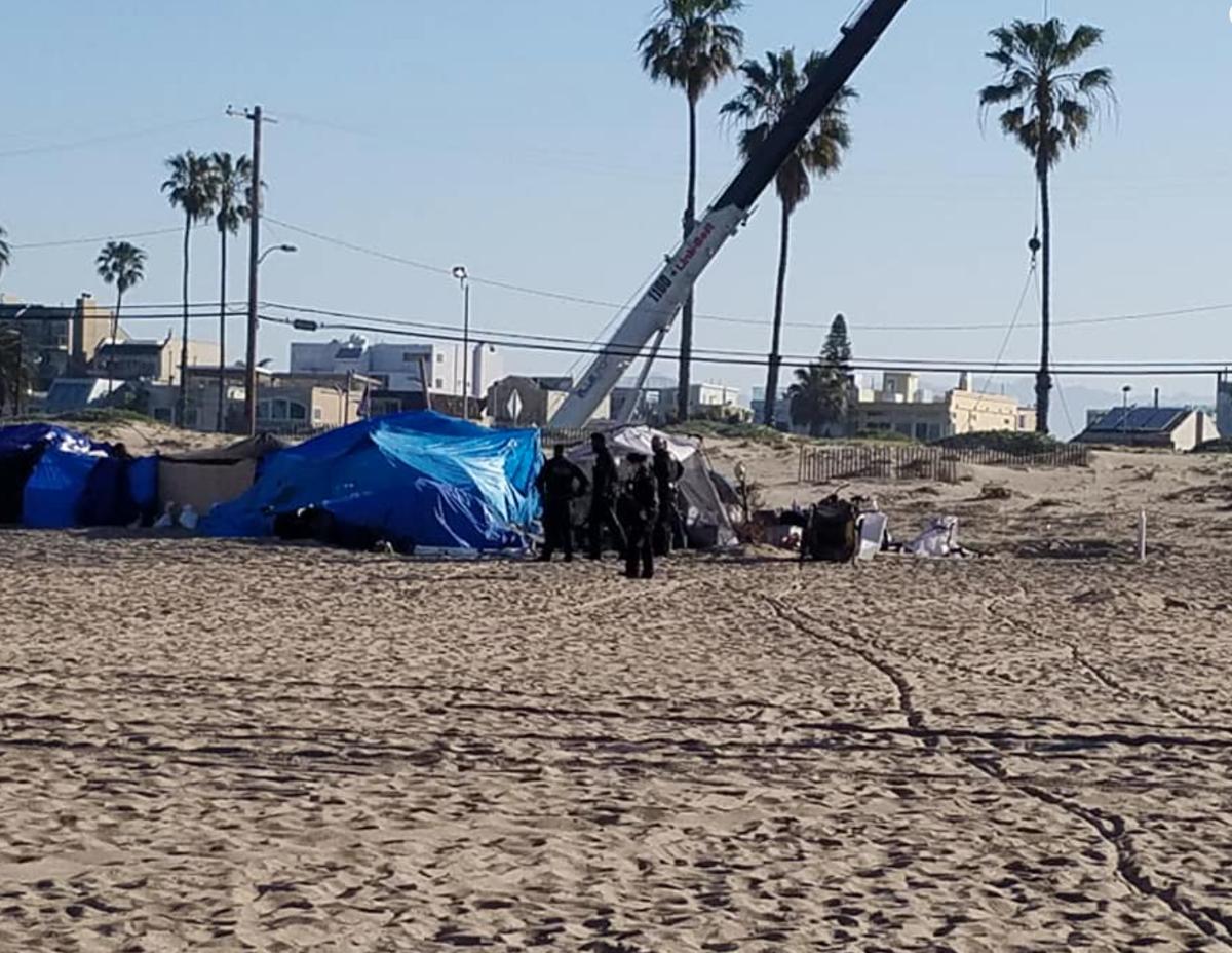 Marina encampment