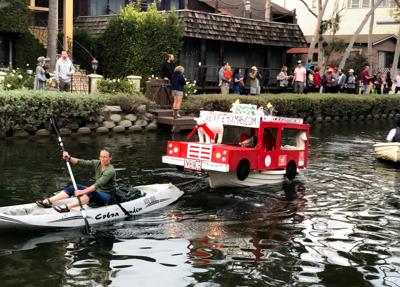 Boat Parade Venice Canals