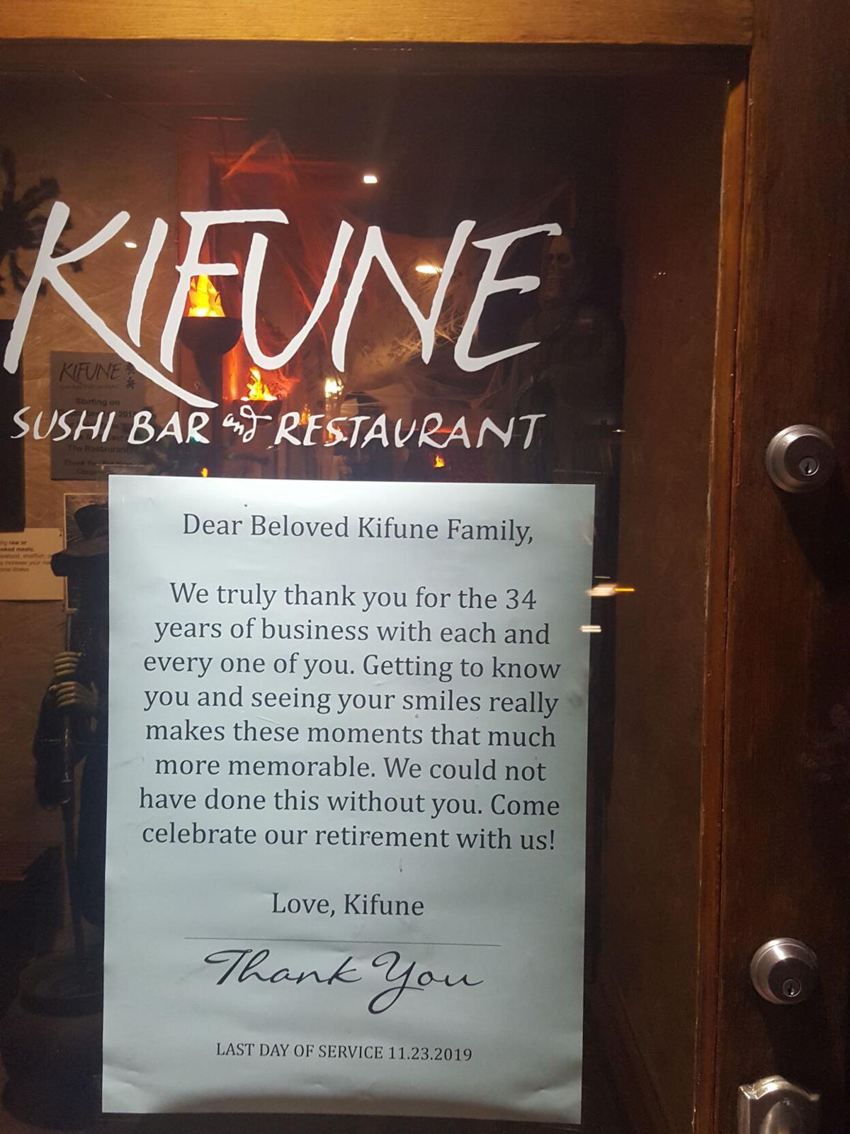 KIFUNE farewell