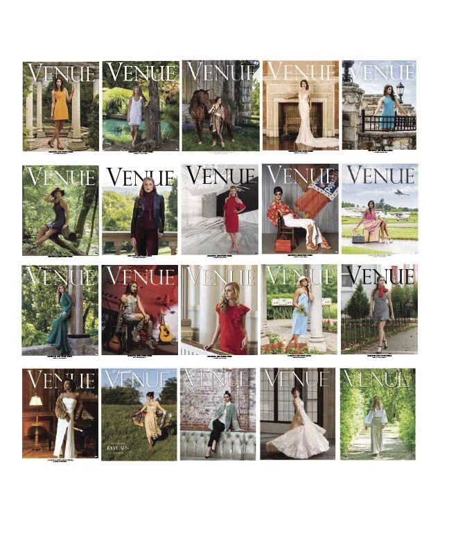 Venue Magazine Covers