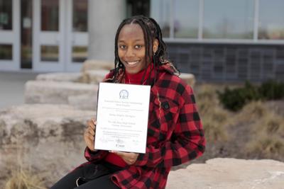 CLV Angela Abongwa named a National Honor Society scholarship finalist