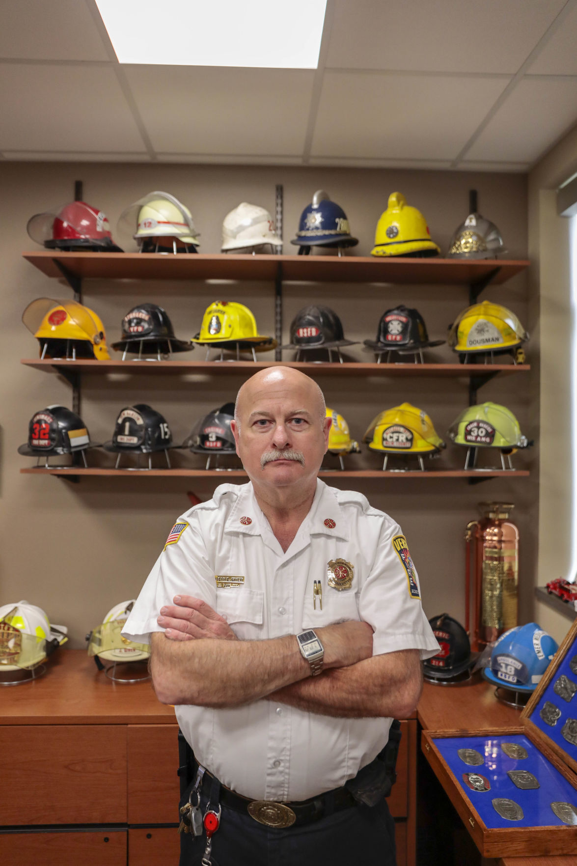 Fire chief Giver retires