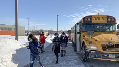 Verona Area High School students return after 11 months