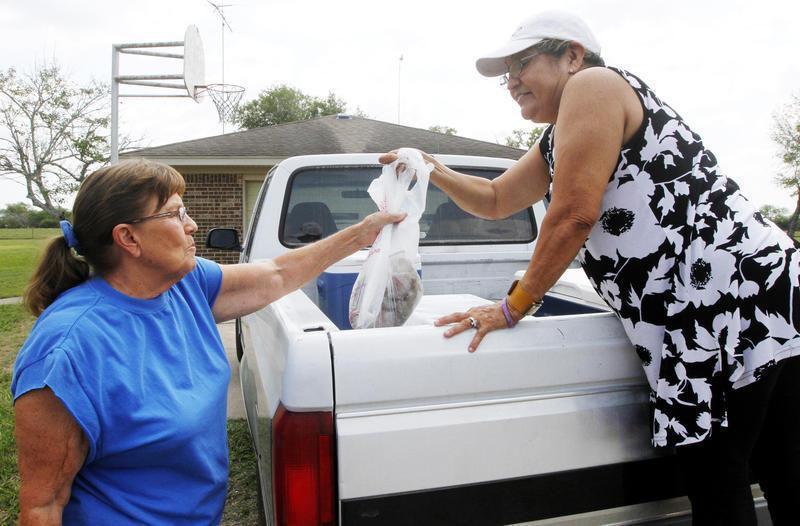 Palacios native sells shrimp with a side of Gospel