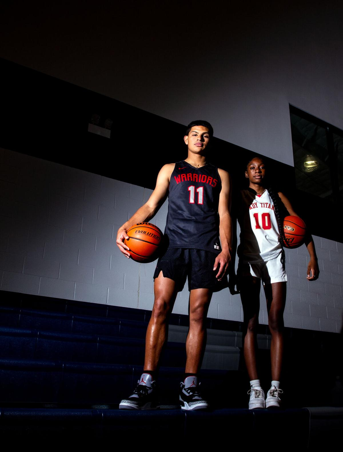 Basketball MVP Photo Shoot