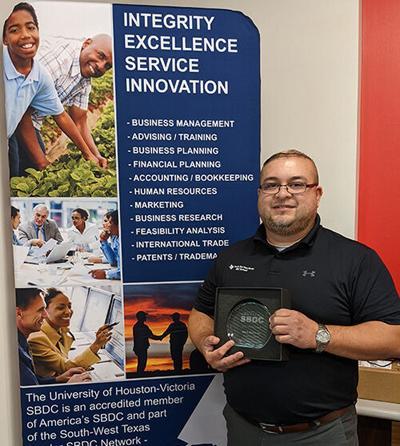 UHV Small Business Development Center advisor receives award