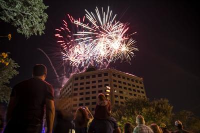 Bootfest fireworks