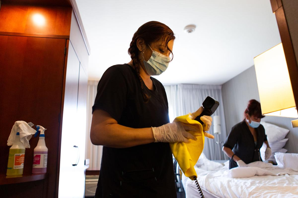 Hotels adjust to pandemic