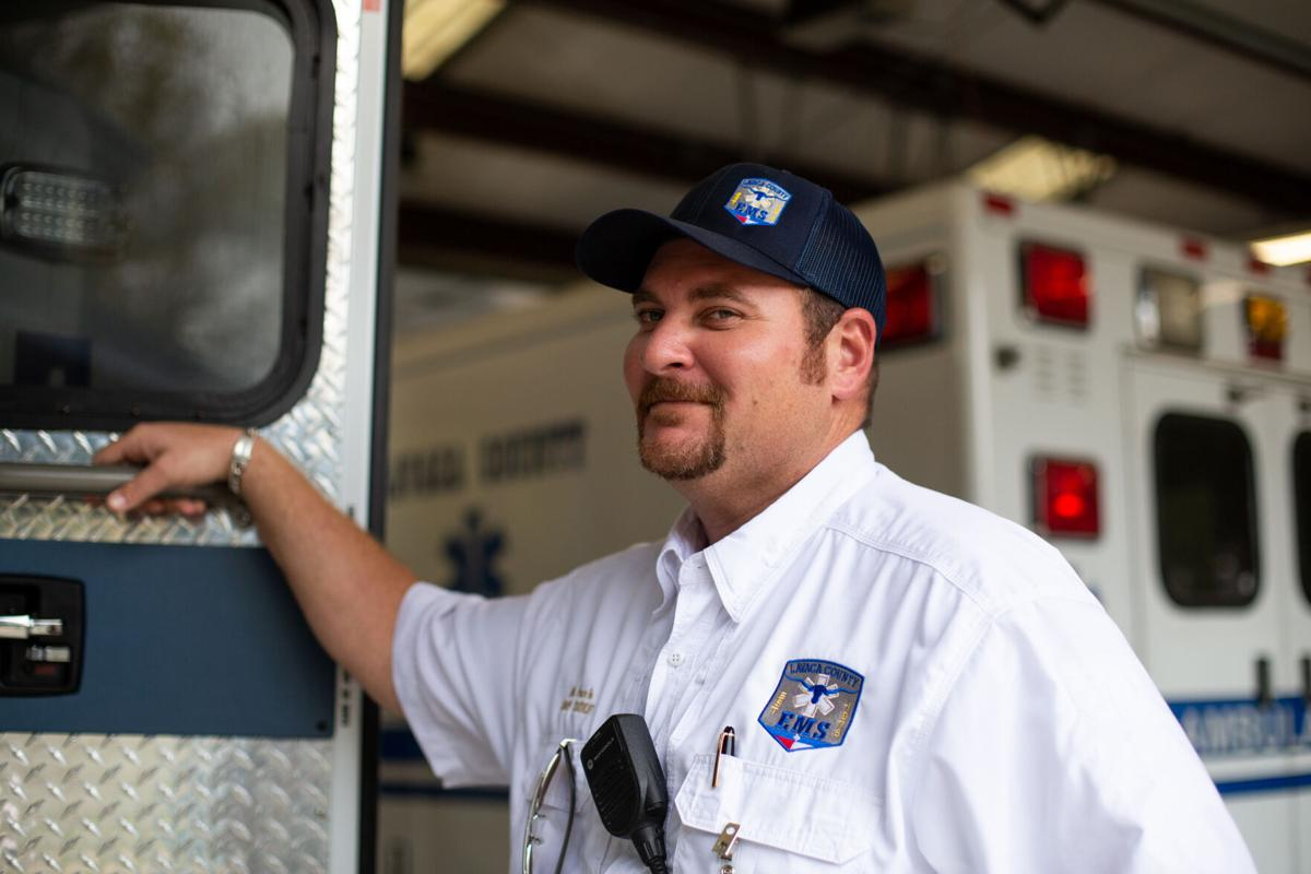 Lavaca County EMS Chief Michael Furrh