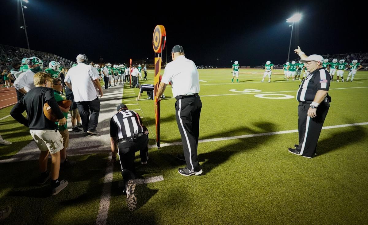 Cuero vs. Navarro football
