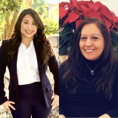 Ashley Hernandez and Jane Bernal