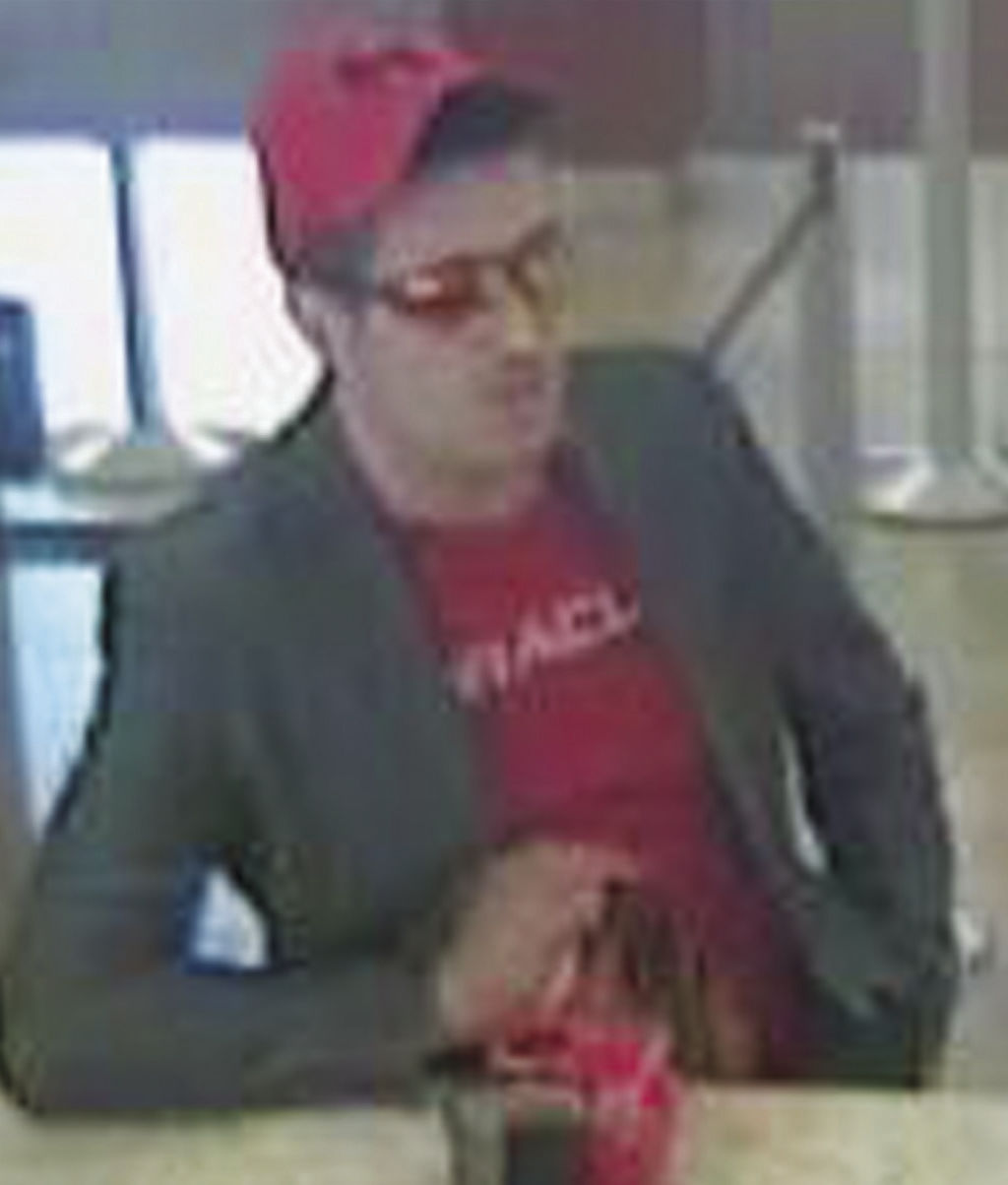 Robbery suspect in Victoria