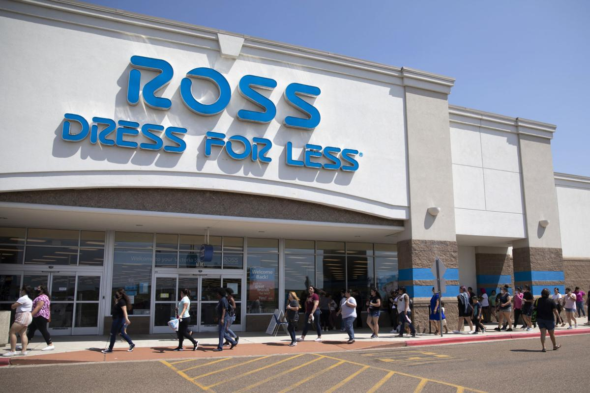 Ross reopens with massive sales