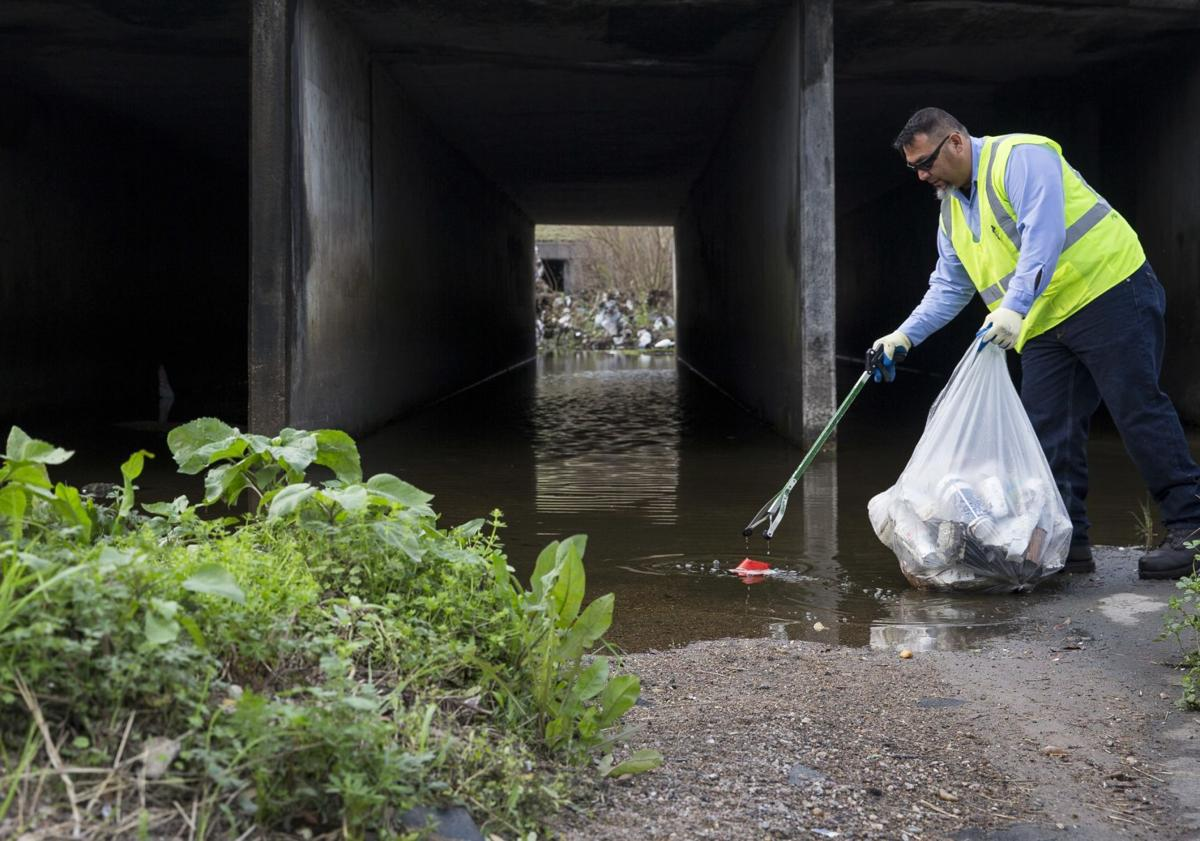 City of Victoria Ditch Clean Up