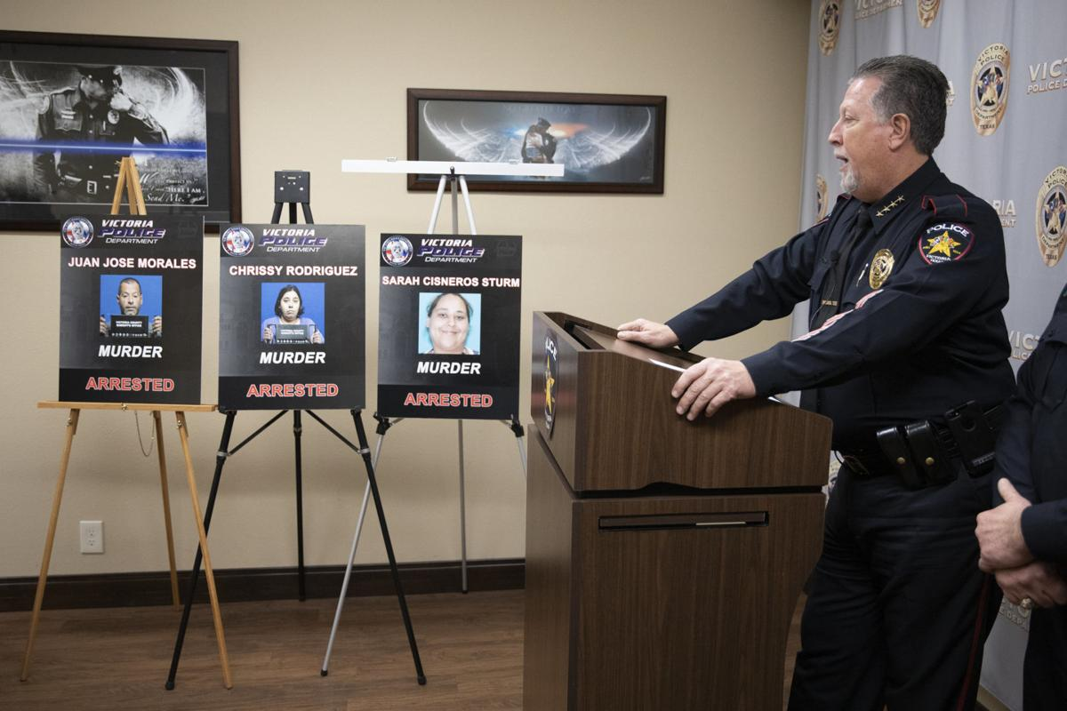 3 Victoria County residents arrested on murder charges (w/video