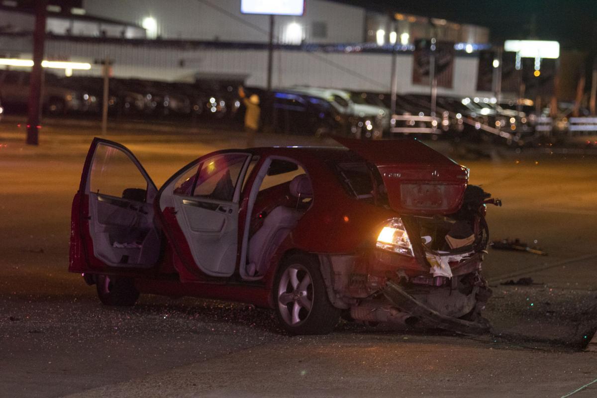 Sam Houston crash