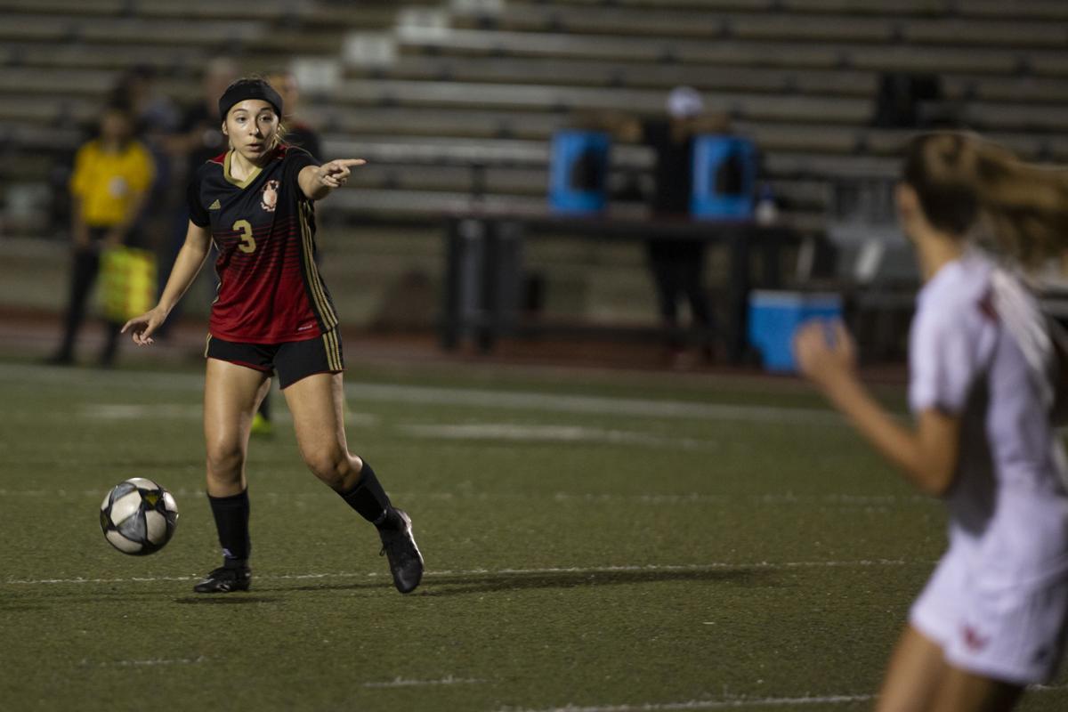 Victoria east vs west girls soccer