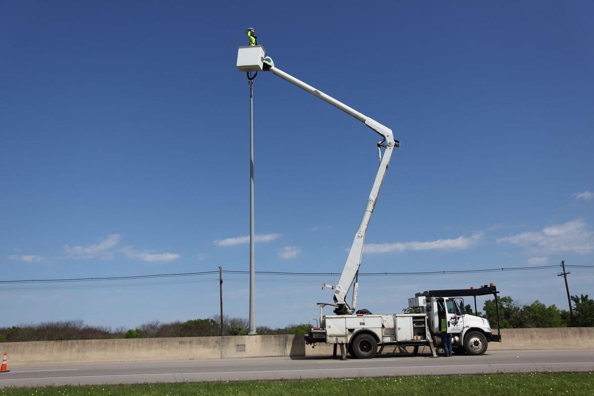 Public Works in Action: Loop 463 light replacement brightens our night