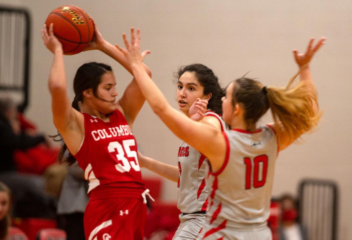 Palacios vs. Columbus Girls Basketball