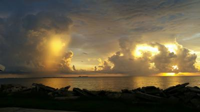 Port Lavaca sunrise that can't be ignored