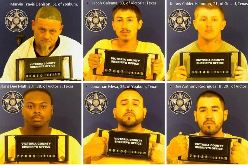 Investigation leads to six arrested on drug and other charges