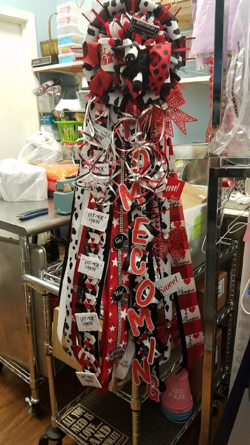 Christmas Homecoming Mum.A Chick Fil A Homecoming Mum Created At Sweet Occasions Last