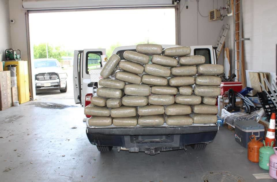 Marijuana seized during Calhoun County traffic stop