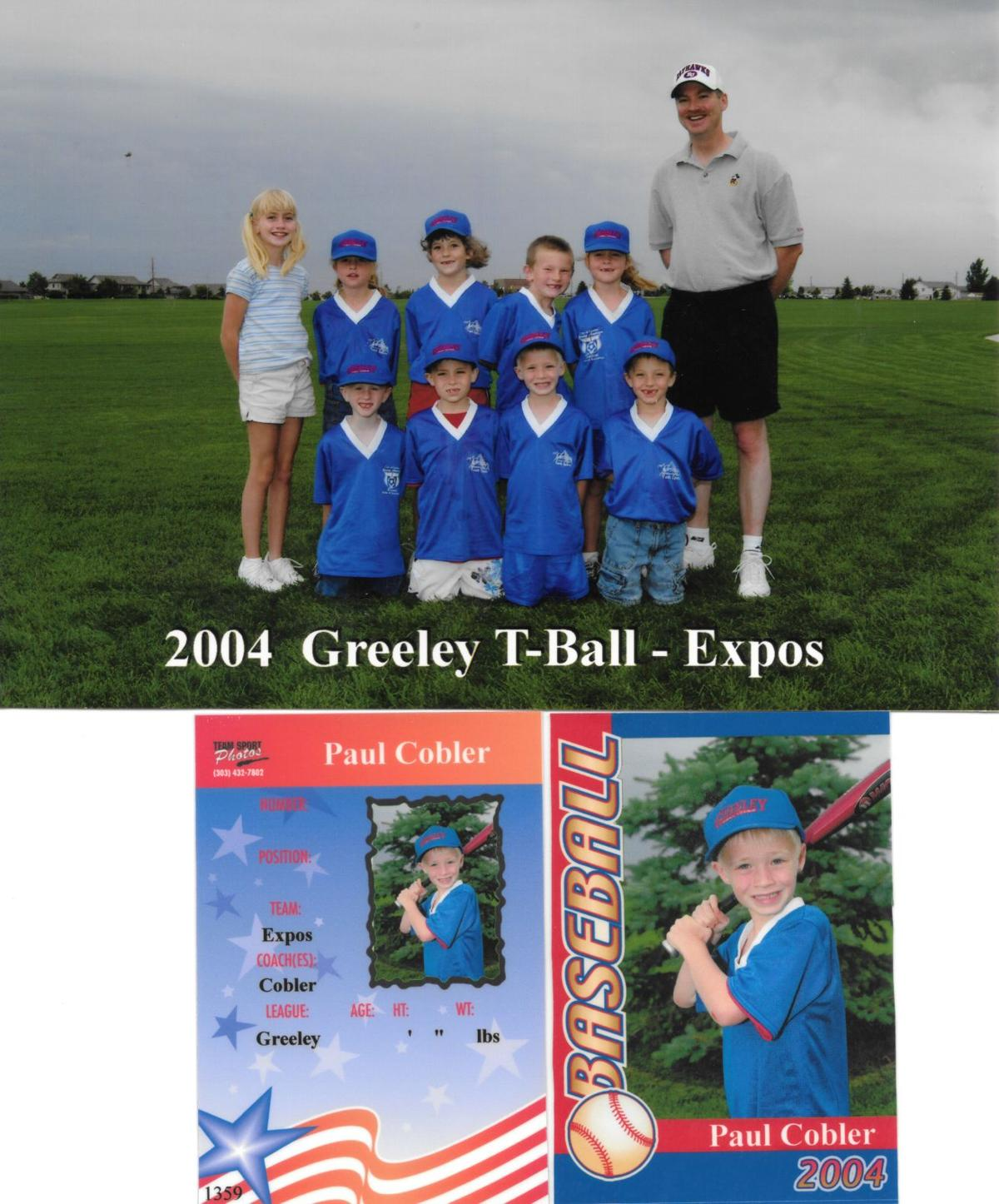 T-ball team in 2004