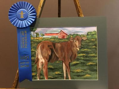 The Houston Livestock Show and Rodeo CISD Art Show
