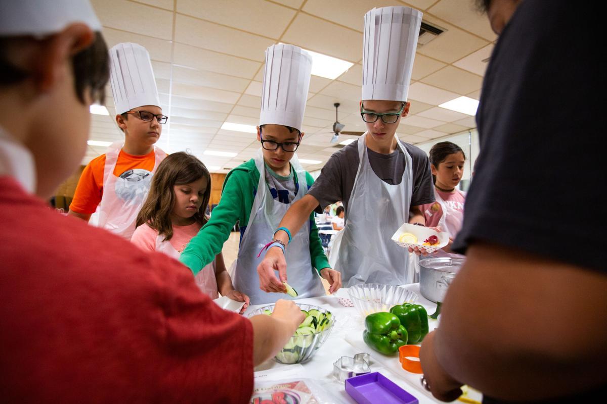 St. Joseph High School cooking camp