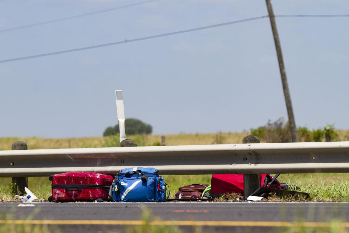 Van passengers involved in US 59 crash were traveling to