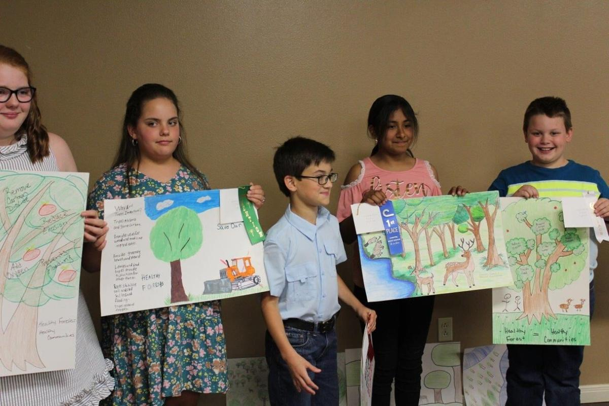 10-year-old poster contest winners