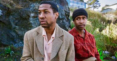Jonathan Majors and Jimmie Fails in 'The Last Black Man in San Francisco'