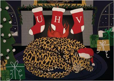 UHV announces winners of president's holiday card contest