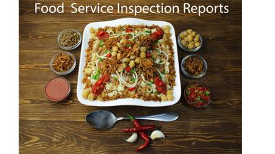 Food service inspection reports