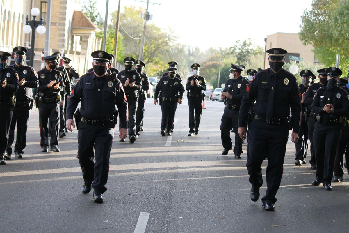 Longtime Victoria Police Department officers retire