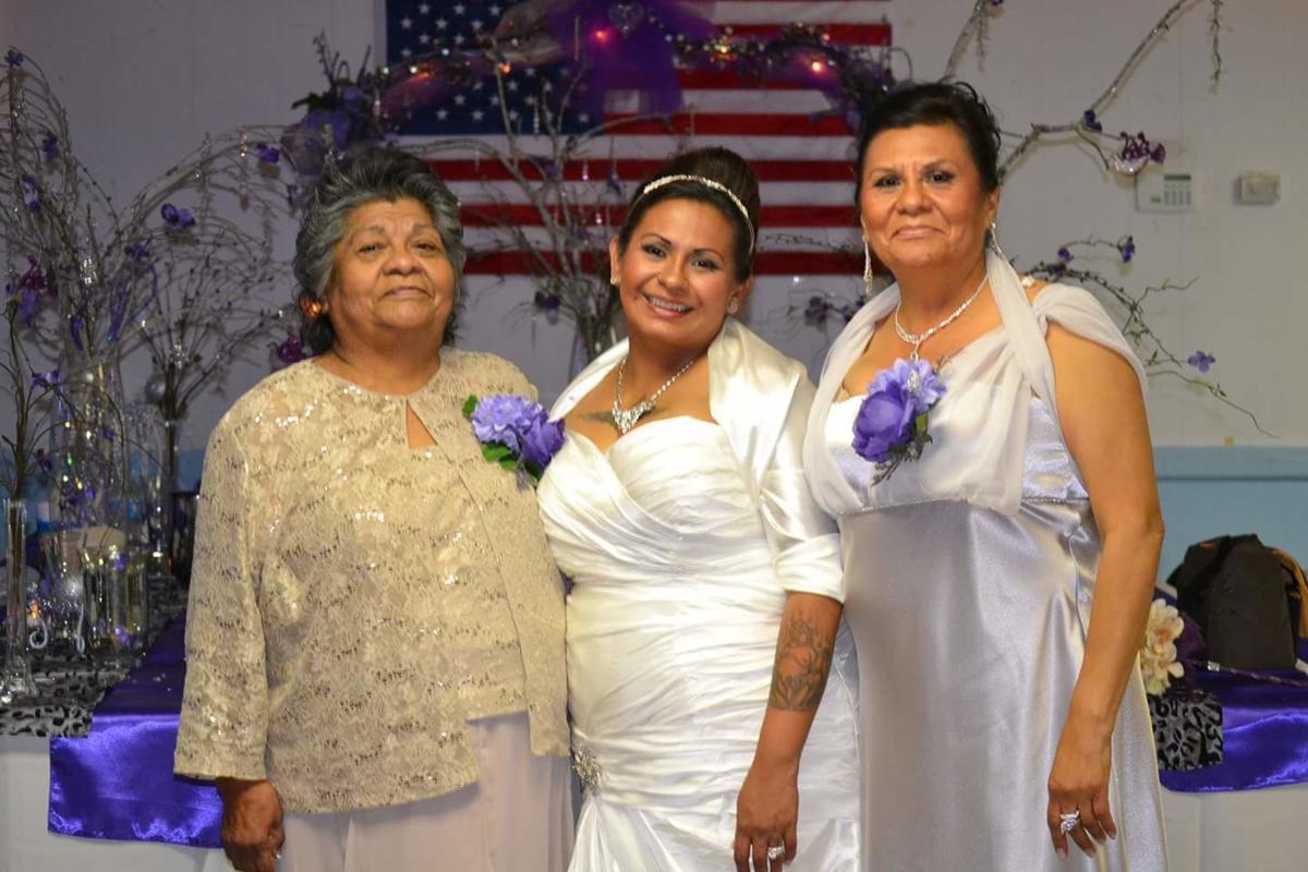 Roberta Salazar and family
