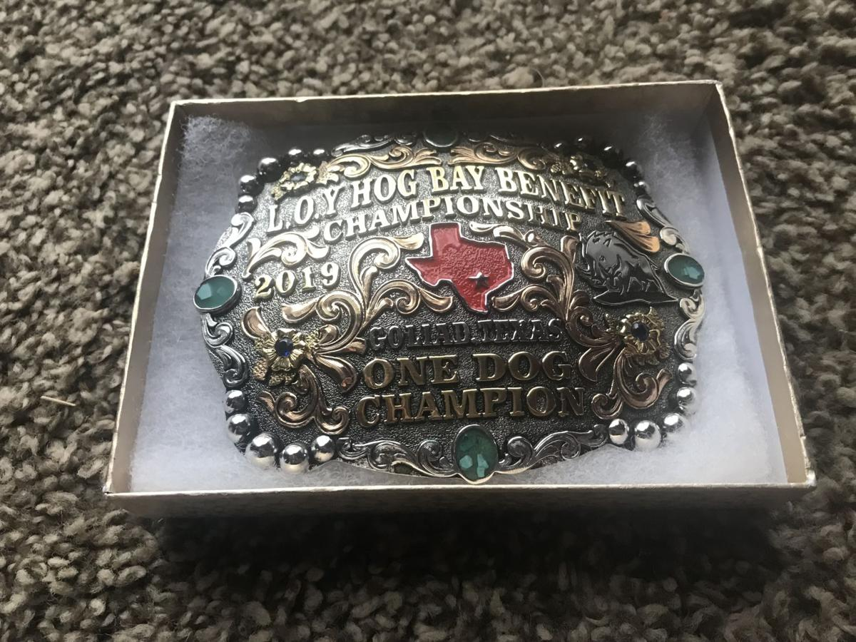 The Salty Dawg hunt will offer belt buckle prizes
