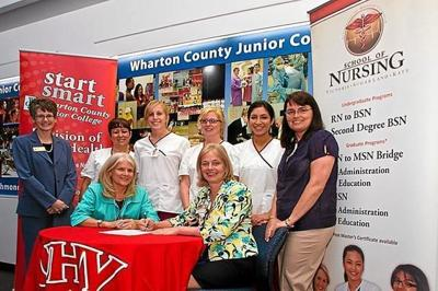 UHV and WCJC sign agreement between nursing schools