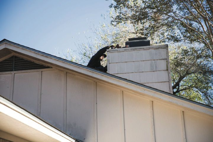 Hurricane damage, cold weather dangerous combination for chimneys
