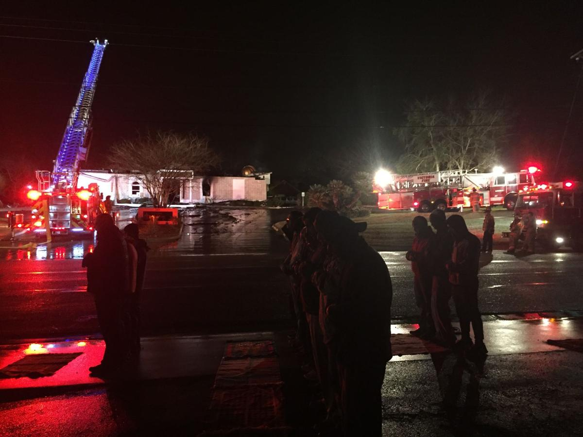 Fire destroys mosque; cause undetermined (w/video)