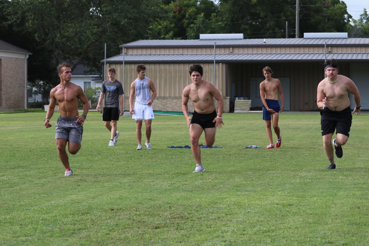 St. Joseph football practice