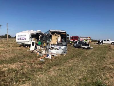 Charter bus wreck
